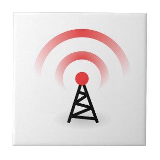 Wireless Network Ceramic Tile