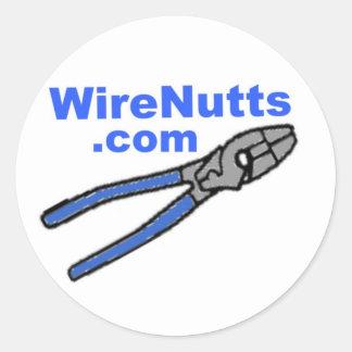 WireNutts.com(X) Hardhat Sticker