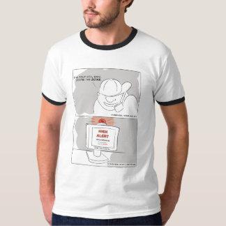 wiretap-civil liberties t-shirts