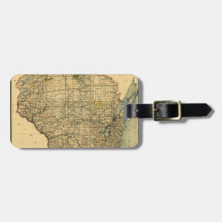 wisconsin1896 luggage tag