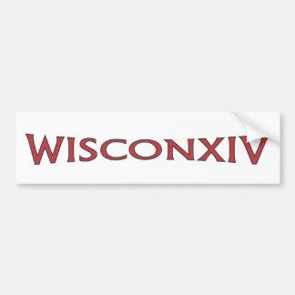 Wisconsin 14 Bumper Sticker