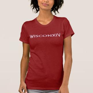 Wisconsin 14 White T-Shirt