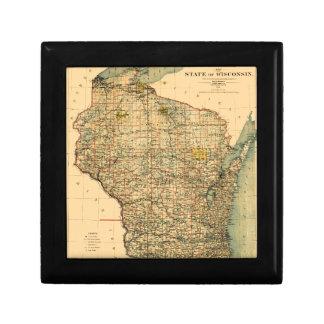 Wisconsin 1896 gift box