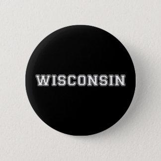 Wisconsin 6 Cm Round Badge