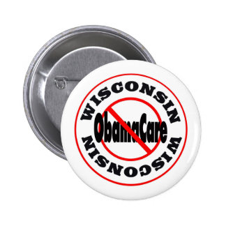 Wisconsin Anti ObamaCare – November's Coming Pinback Button