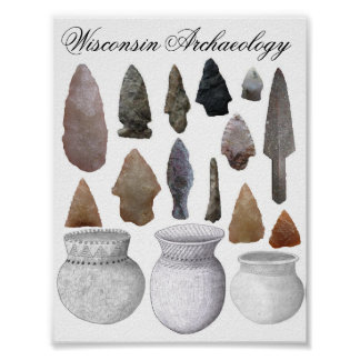 Wisconsin Archaeology Poster