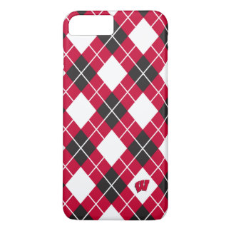 Wisconsin | Argyle Pattern iPhone 8 Plus/7 Plus Case