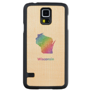 Wisconsin Carved Maple Galaxy S5 Case
