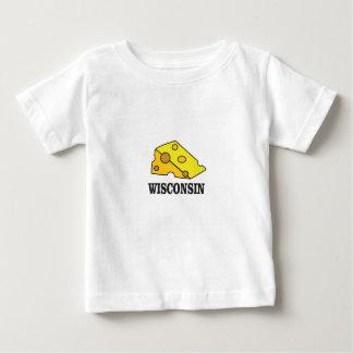 Wisconsin cheese head baby T-Shirt