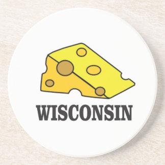Wisconsin cheese head coaster