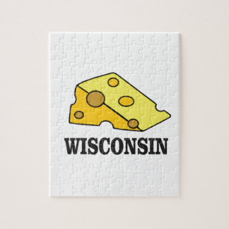 Wisconsin cheese head jigsaw puzzle