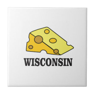 Wisconsin cheese head tile