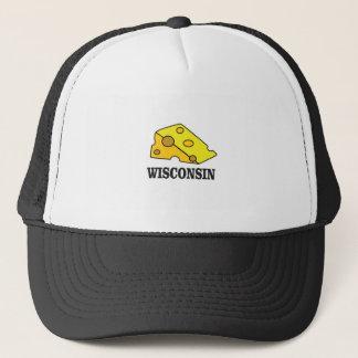 Wisconsin cheese head trucker hat