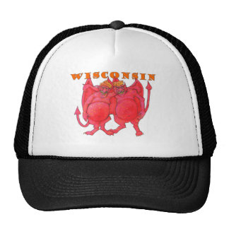 Wisconsin Cheesehead Demons Cap
