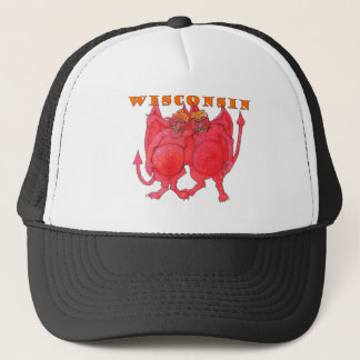 Wisconsin Cheesehead Demons Trucker Hat