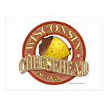 Wisconsin Cheesehead Seal Post Cards