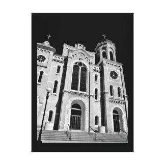 Wisconsin Church Canvas Print