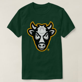 Wisconsin Cow Men's Tee (Forest Green)