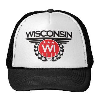 Wisconsin Crest Design Hats