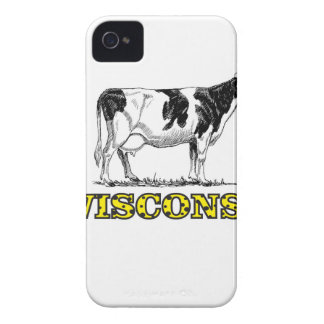 Wisconsin dairy cow Case-Mate iPhone 4 case