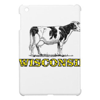 Wisconsin dairy cow iPad mini cover