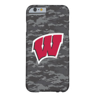 Wisconsin | Dark Digital Camo Pattern Barely There iPhone 6 Case