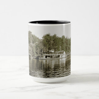 Wisconsin DELLS STEAMBOAT APOLLO #1 PRE 1930 PHOTO Mug