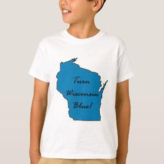 Wisconsin Democratic Pride! Turn Wisconsin Blue! T-Shirt