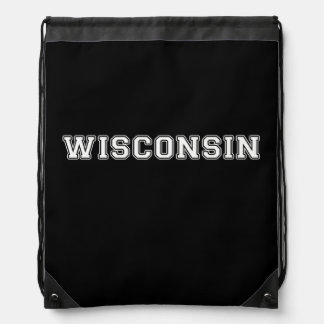 Wisconsin Drawstring Bag