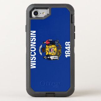 Wisconsin Flag OtterBox Defender iPhone 8/7 Case