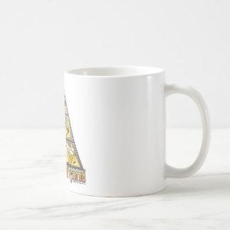 Wisconsin Food Pyramid Basic White Mug