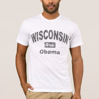 Wisconsin for Barack Obama T-Shirt