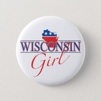 Wisconsin Girl Button