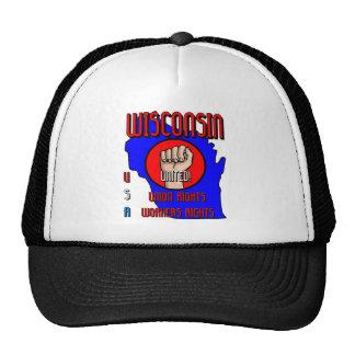 Wisconsin Mesh Hats