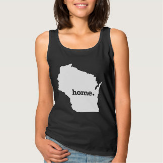 Wisconsin Home Basic Tank Top