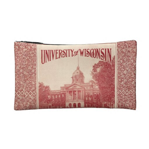Wisconsin Independent Cover Design Cosmetic Bag
