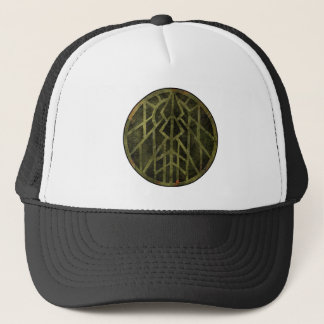 Wisconsin, Land of Barns Trucker Hat