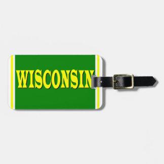 Wisconsin LL Luggage Tag