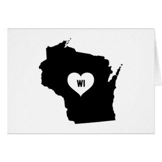 Wisconsin Love Card