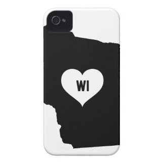 Wisconsin Love Case-Mate iPhone 4 Cases