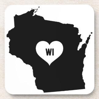 Wisconsin Love Coaster