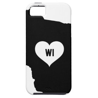 Wisconsin Love iPhone 5 Covers