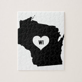 Wisconsin Love Jigsaw Puzzle