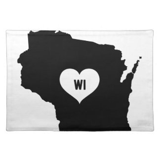 Wisconsin Love Placemat