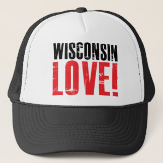 Wisconsin Love Trucker Hat