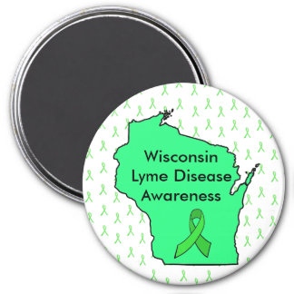 Wisconsin Lyme Disease Awareness Magnet