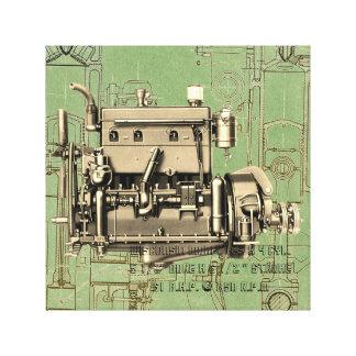 Wisconsin Motor Milwaukee Wisconsin gas engine B-3 Canvas Print