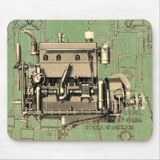 Wisconsin Motor Milwaukee Wisconsin gas engine B-3 Mouse Pad