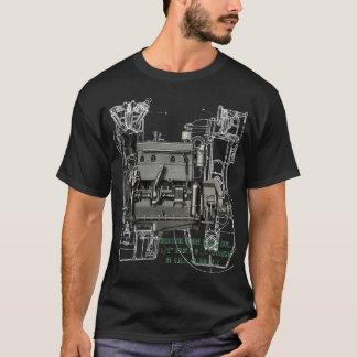 Wisconsin Motor Milwaukee Wisconsin gas engine B-3 T-Shirt