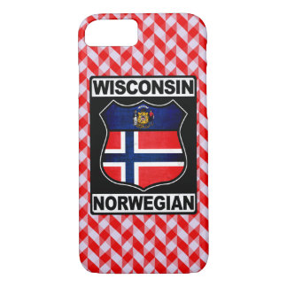 Wisconsin Norwegian American Phone Cover